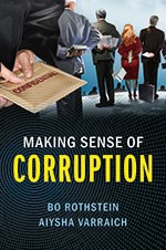 Book cover of Making sense of corruption